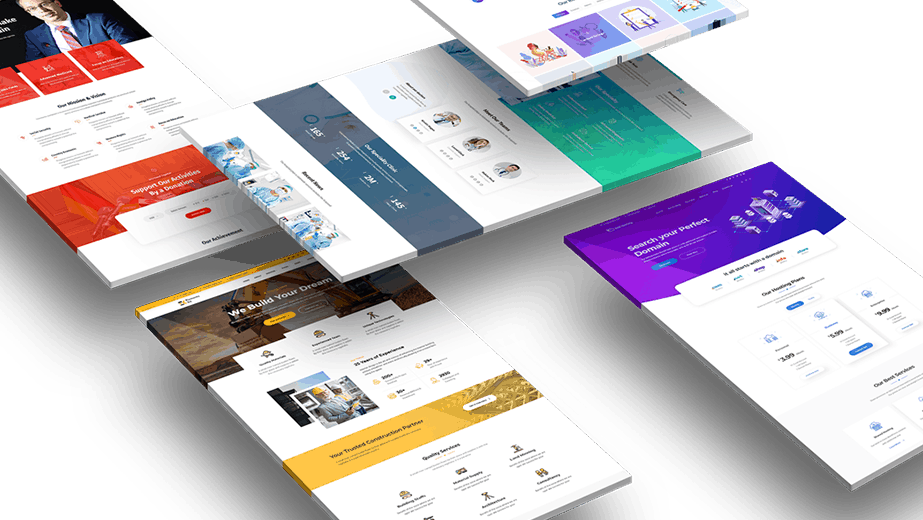 Elementor Testimonial Widget with extensive carousel, slider, and more design options.