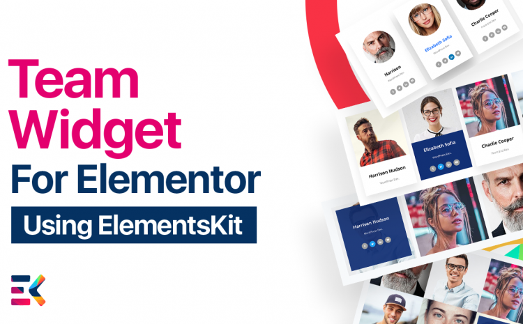 Elementor Team Widget allows you to show your team members in different interactive layouts. Let's show your teammate in a creative way.