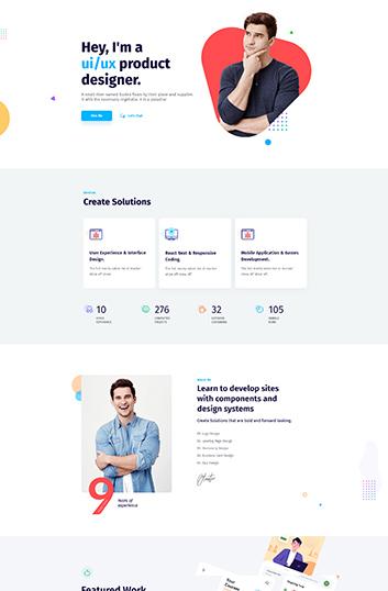 personal-portfolio-homepage-demo -wpmet