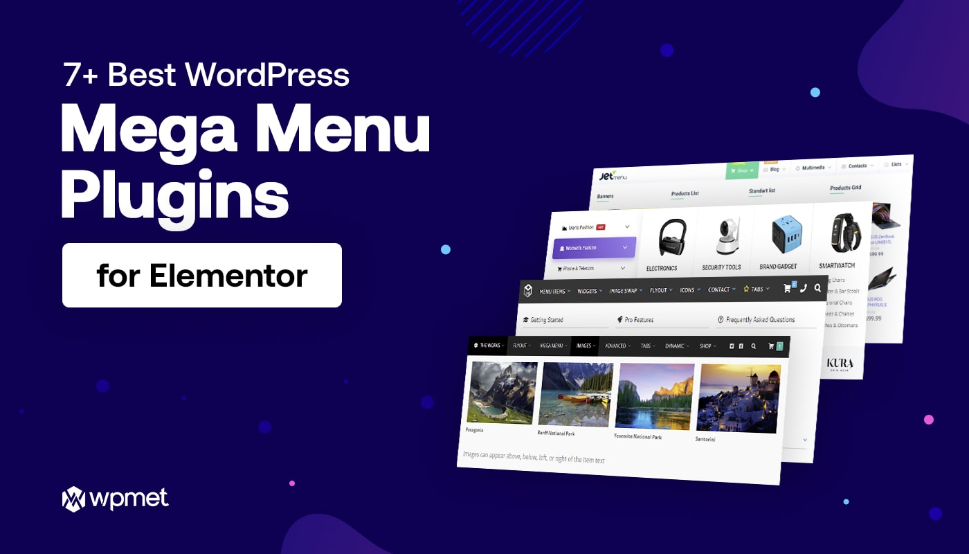 Best WordPress Mega Menu Plugins Banner