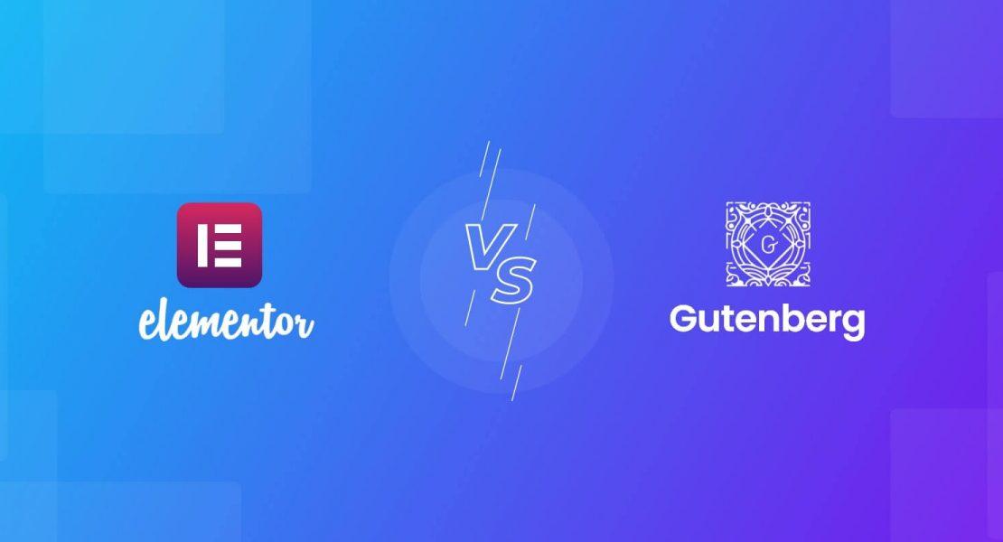 Elementor Vs Gutenberg feature image