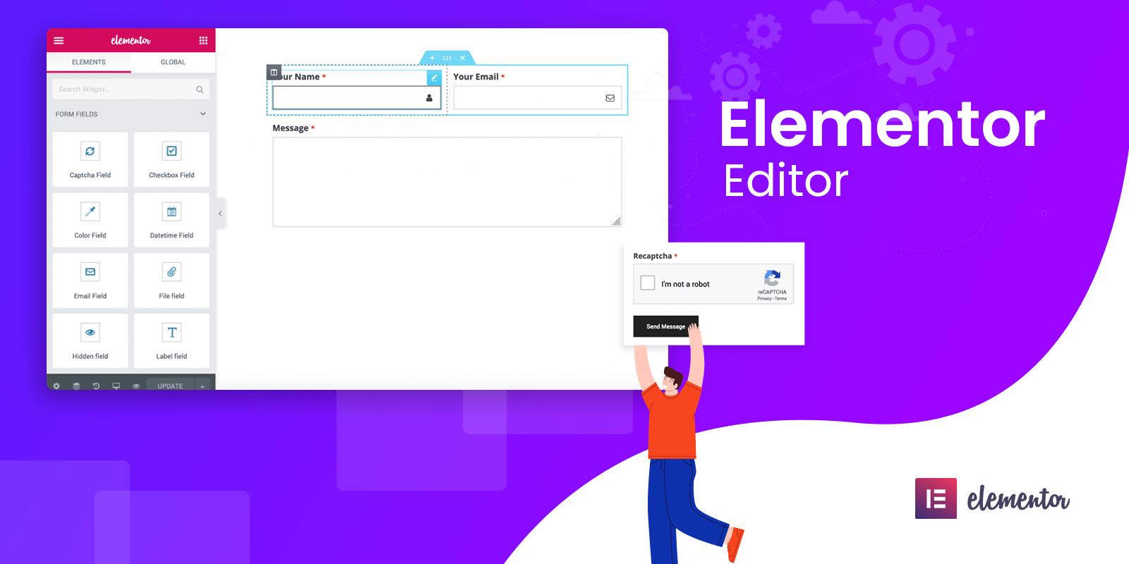 Elementor editor