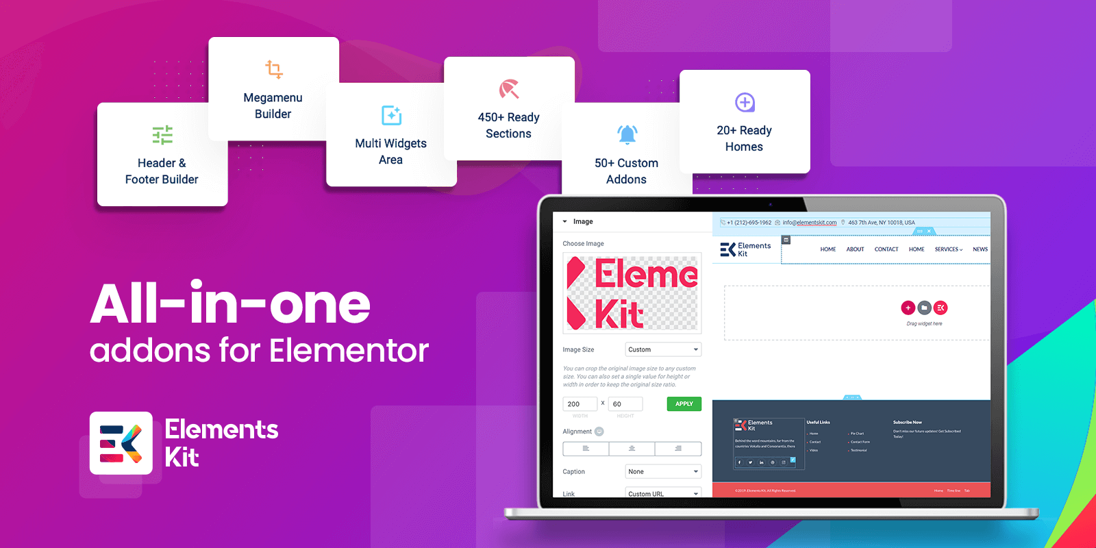 ElementsKit: All in one addons for Elementor