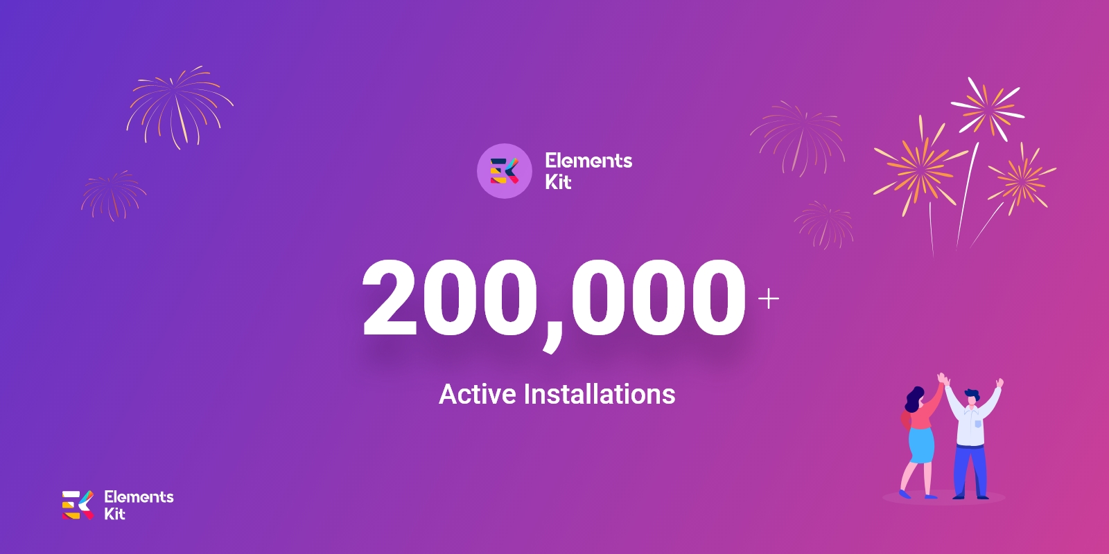 ElementsKit All in One Addons for Elementor Reaching Another Milestone: 200K+ Active Installations