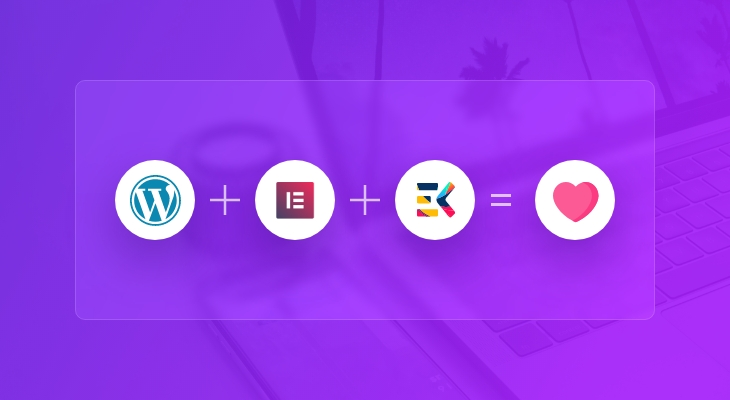 WordPress, Elementor, and ElementsKit are all you need for a complete website
