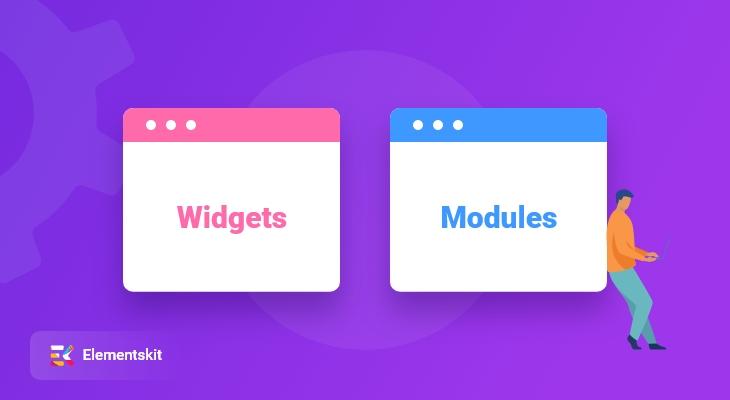 Modules and Widgets of ElementsKit