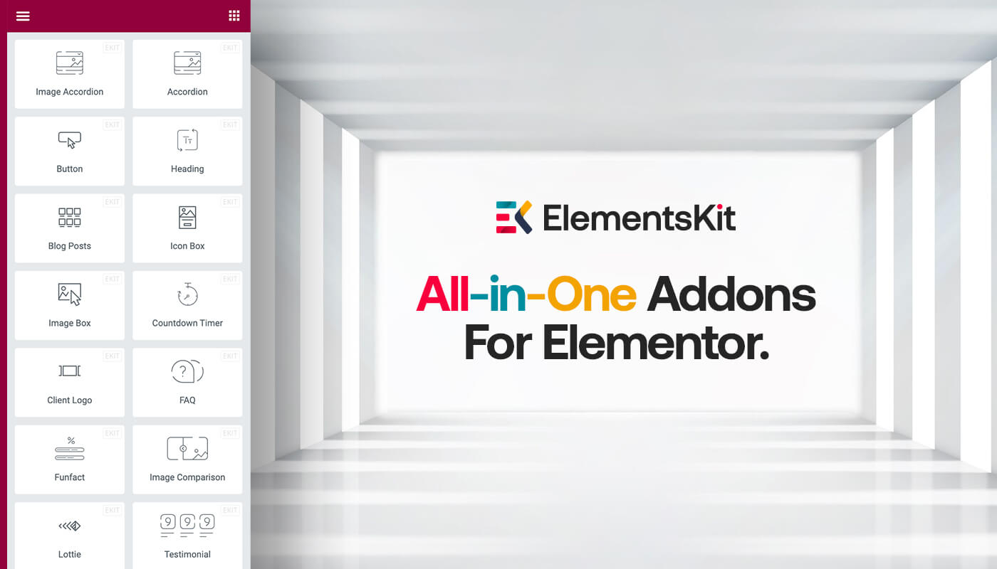 Best addons for Elementor - ElementsKit by Wpmet