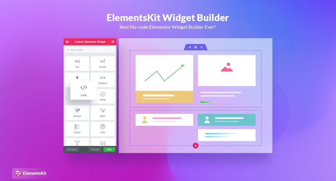 ElementsKit widget builder