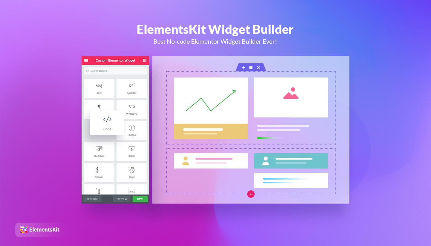 ElementsKit widget builder