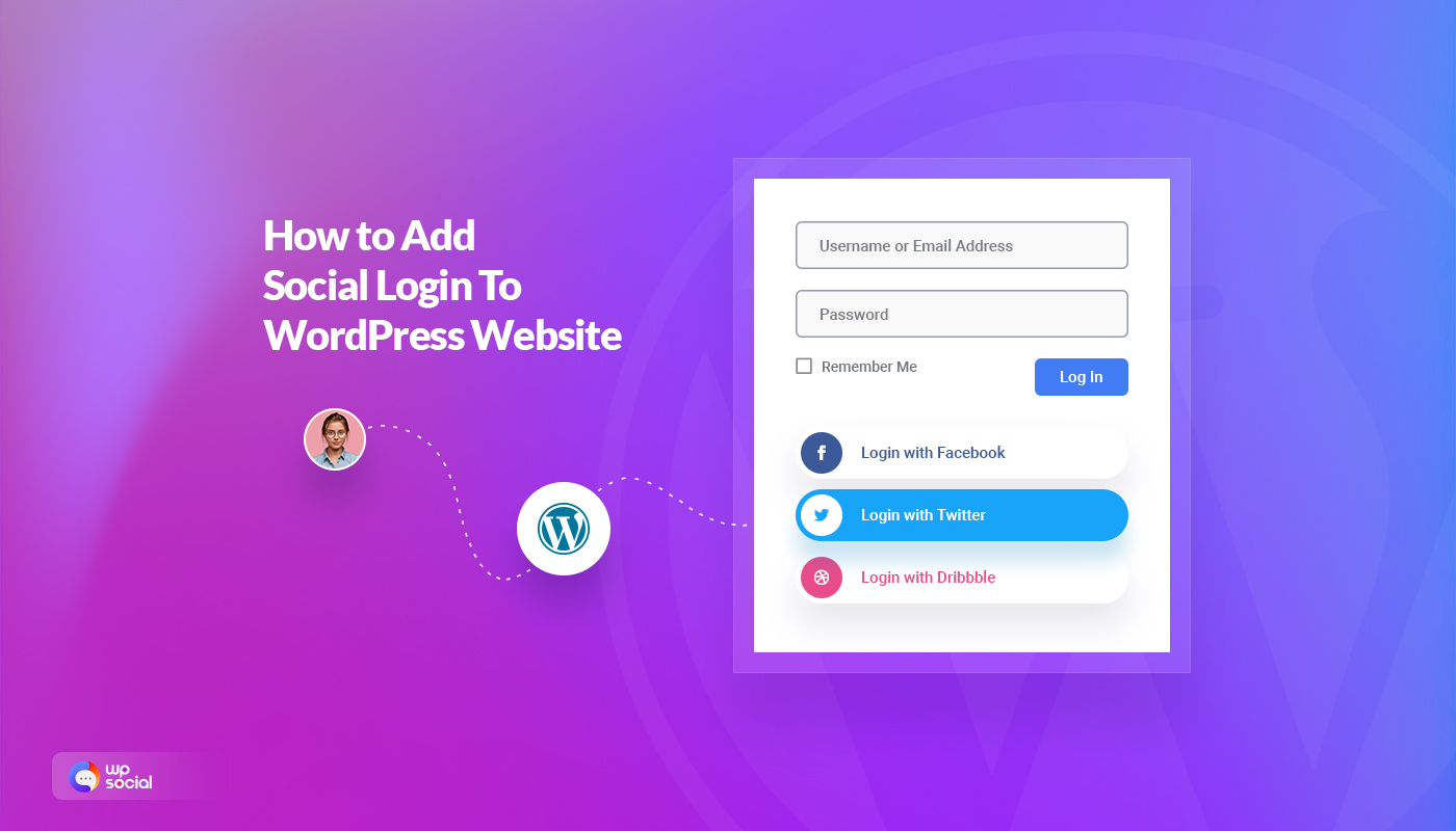 how to add social login to your WordPress website