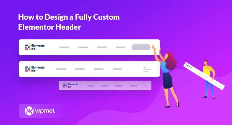 Custom elementor header