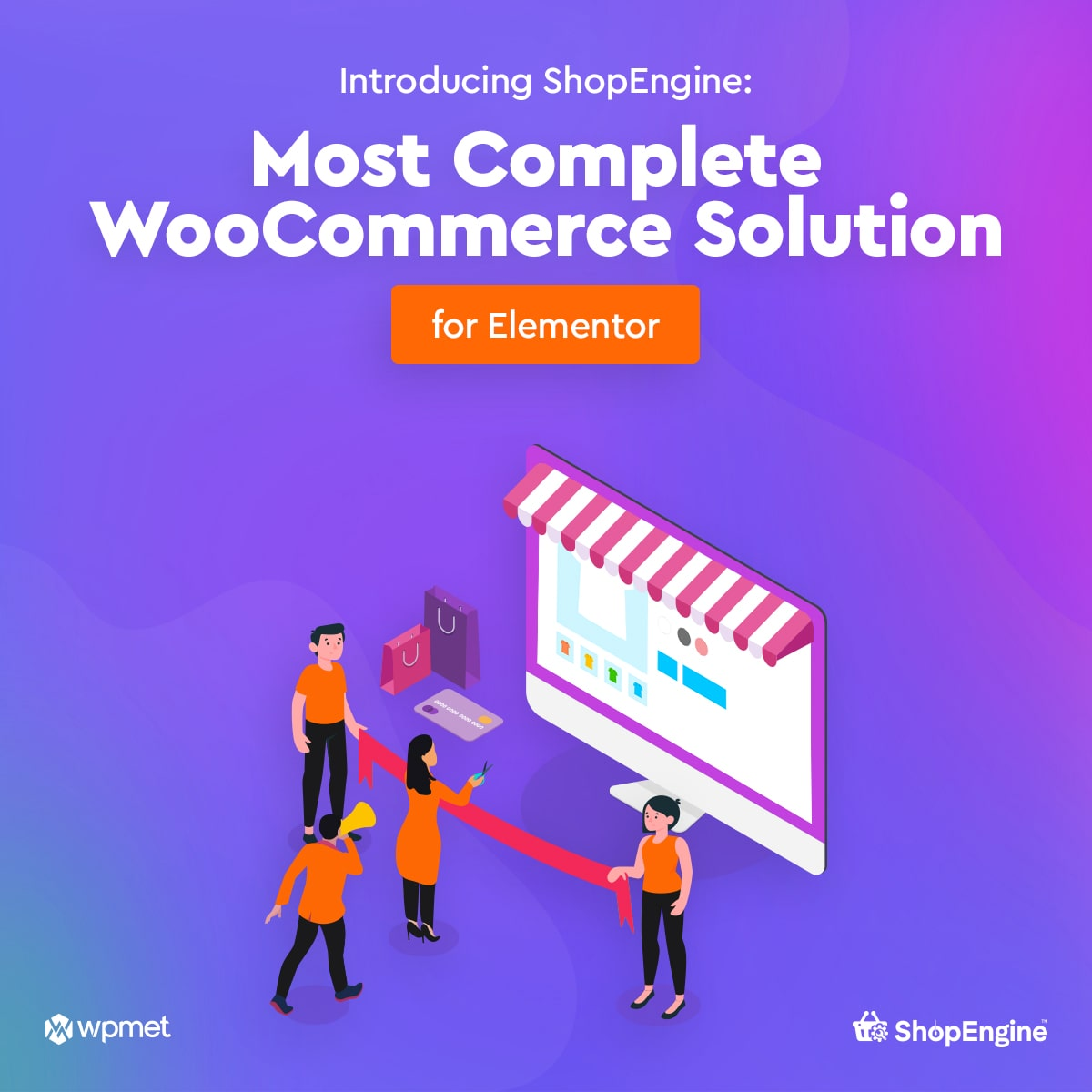 ShopEngine : Most Complete WooCommerce Solution for Elementor is available for download now