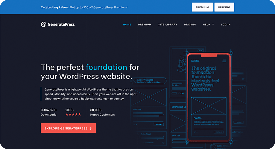 GeneratePress Theme for WordPress