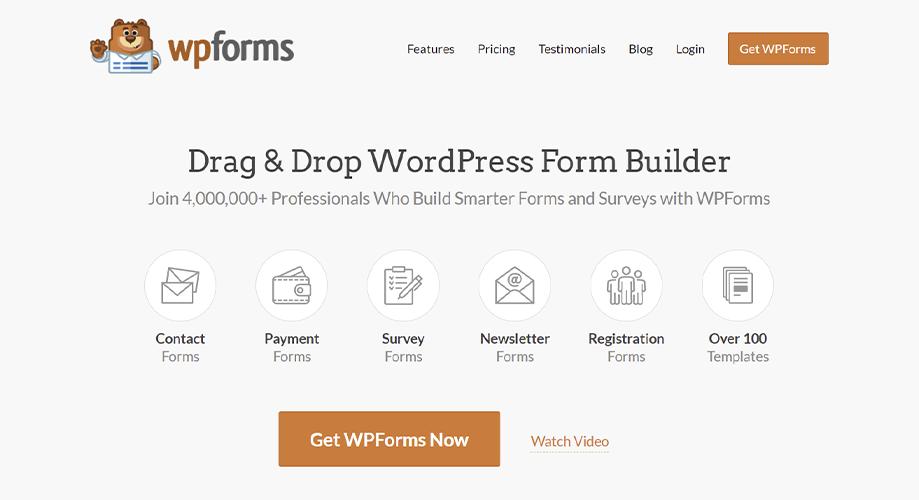 WPForms Best Contact Form in WordPress