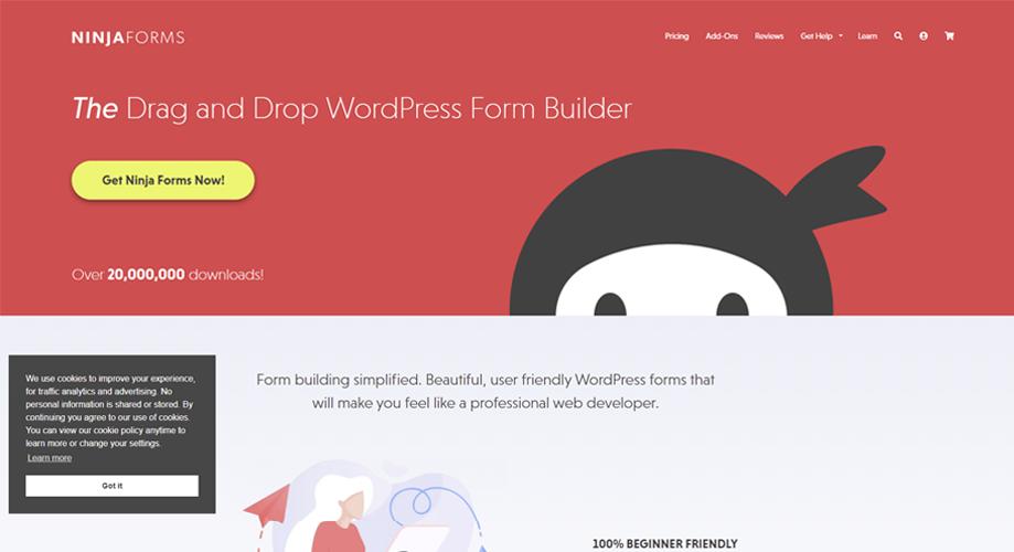 Ninja Forms Best Contact Form in WordPress