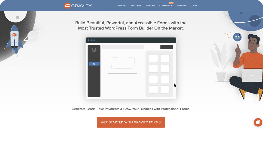Gravity Forms Best Contact Form in WordPress