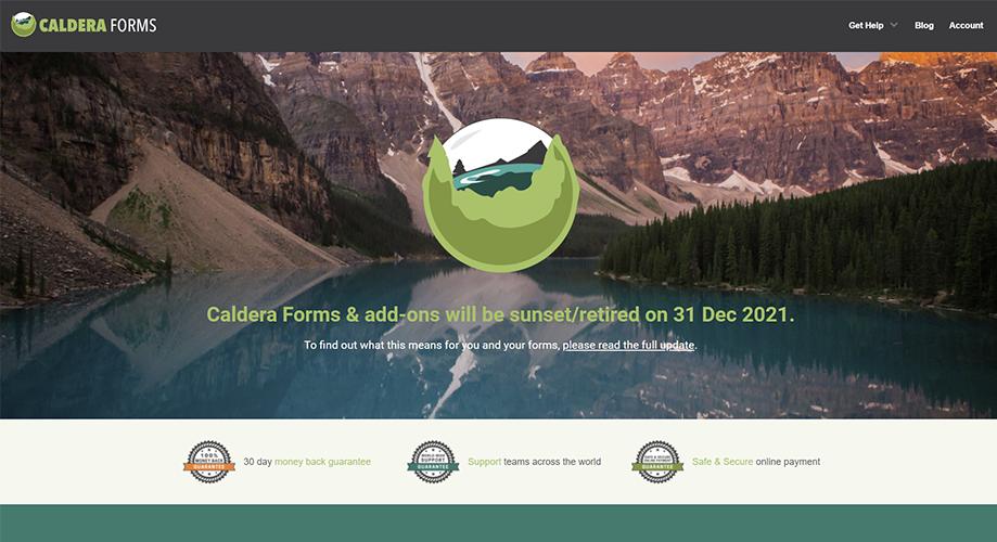 Caldera Forms Best Contact Form in WordPress