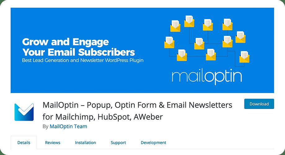 MailOptin plugin