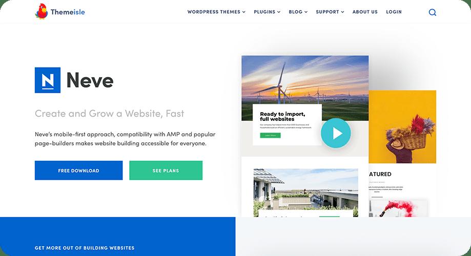 Neve Theme for WordPress
