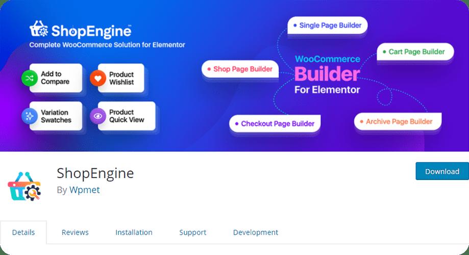 ShopEngine for WooCommerce