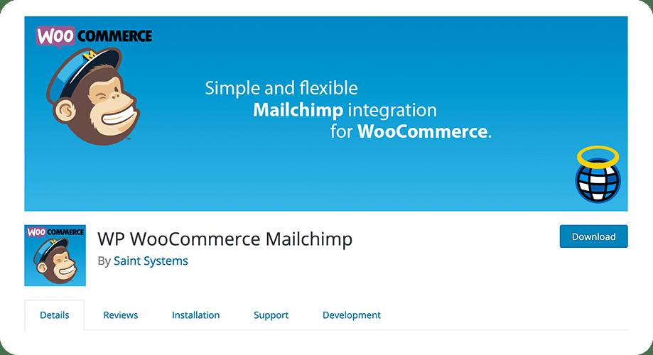 WP WooCommerce MailChimp plugin