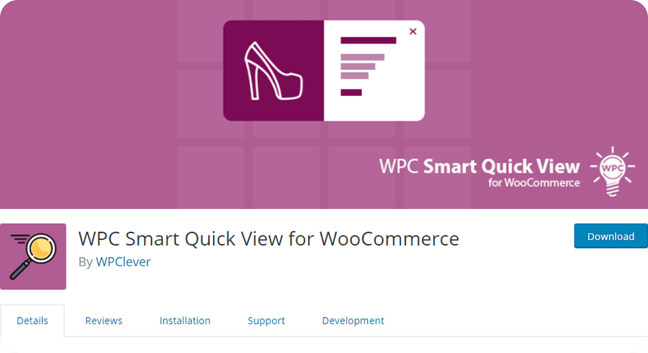 WPC Smart Quick View for WooCommerce