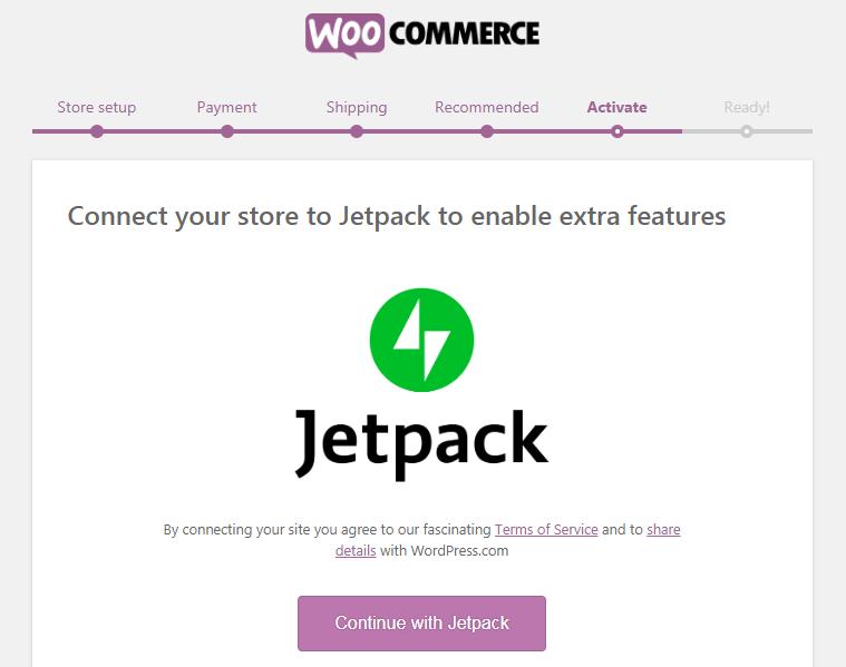 WooCommerce Jetpack Installation