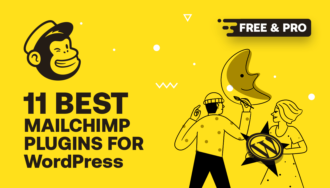 Best Mailchimp plugins for WordPress banner