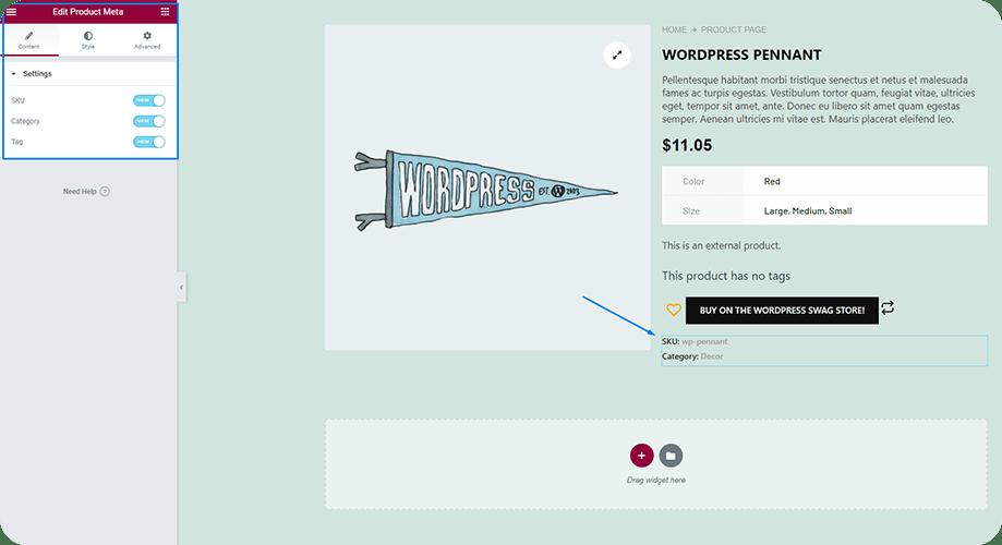 Customize WooCommerce Product Meta