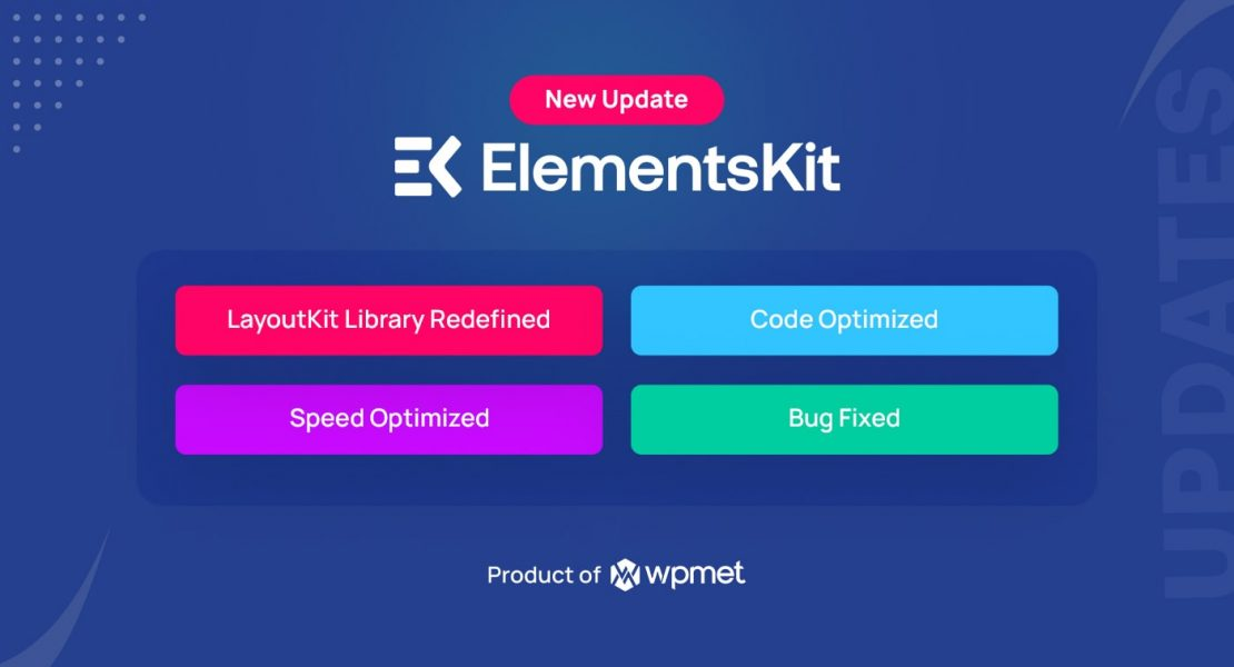 New Update ElementsKit - Your All-in-One Add-On for Elementor