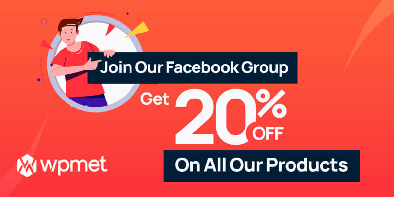 Join our Facebook Group and Get 20% off on all our Products