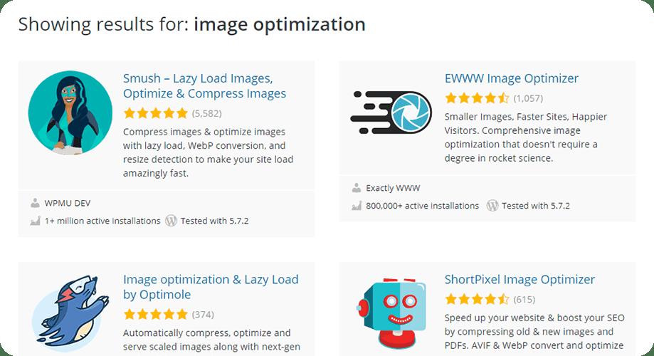 Image Optimization Plugins for WordPress