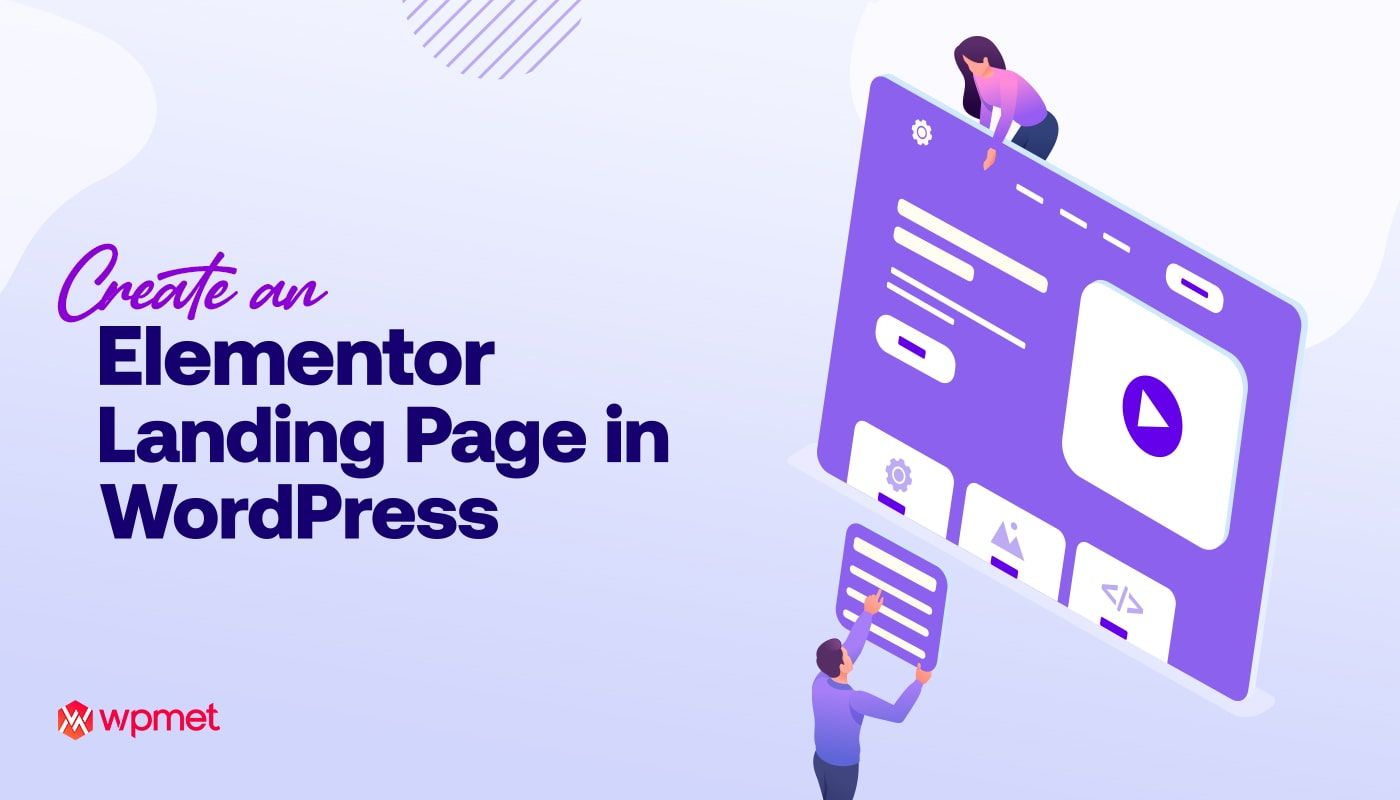 how to customize elementor landing page in WordPress