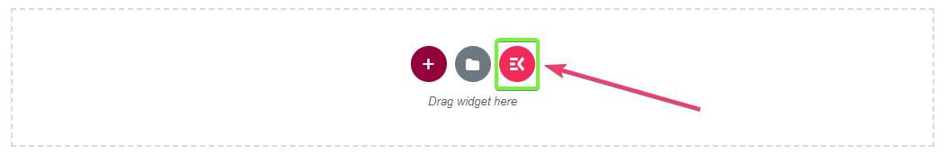 start building the elementor navigation menu with ElementsKit