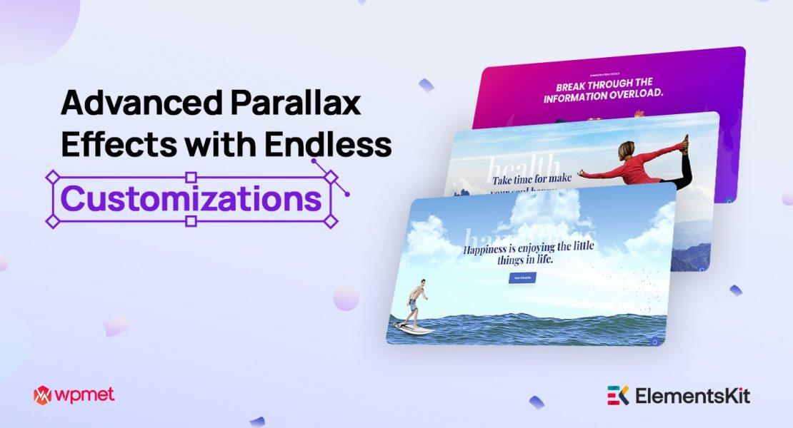 parallax effect WordPress