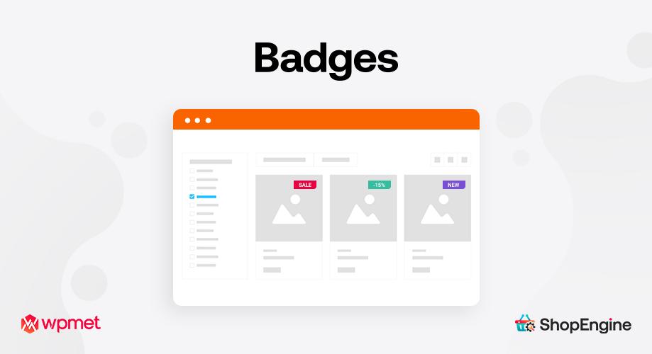 Badges Module of ShopEngine