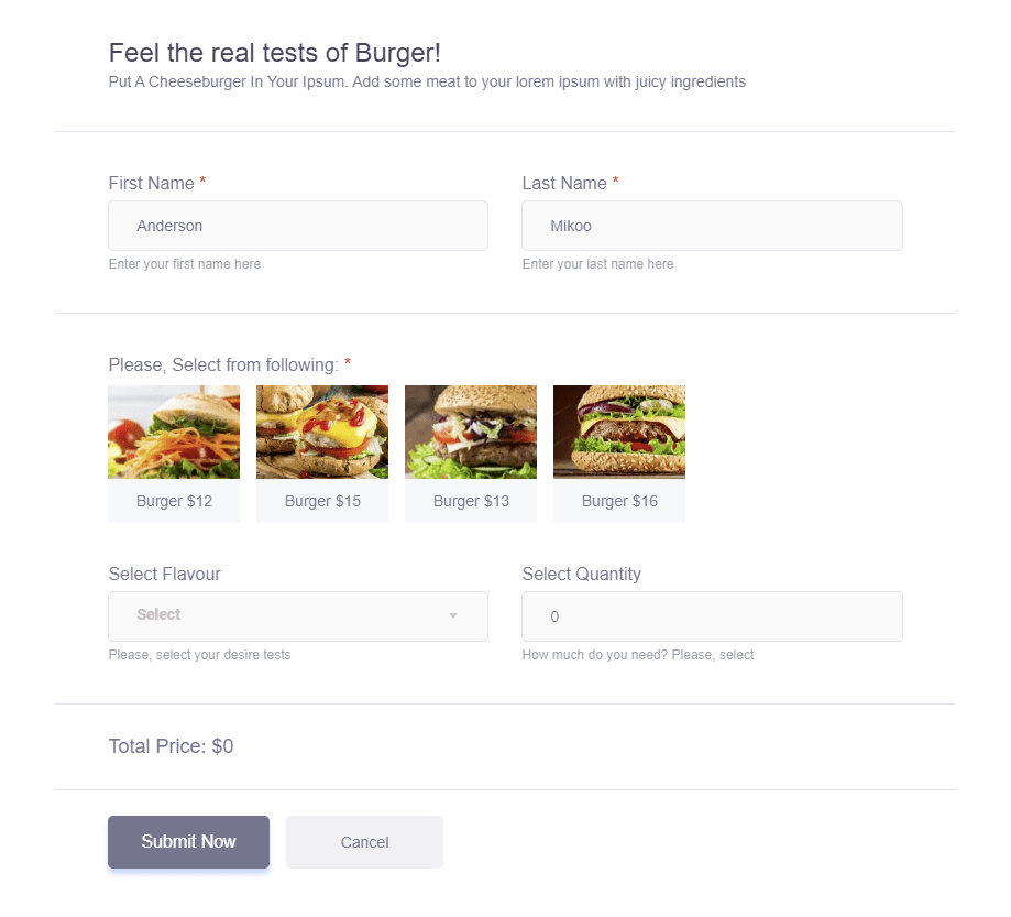 WooCommerce Checkout Form by MetForm