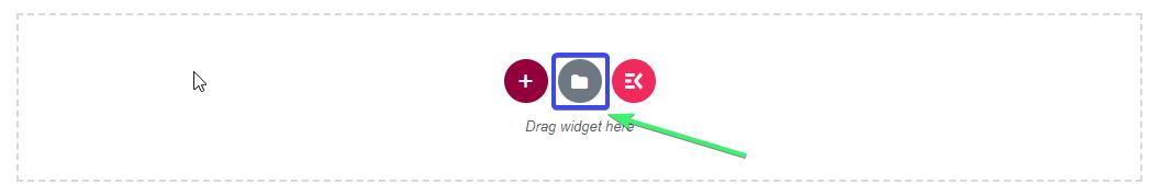 Add elementor header template
