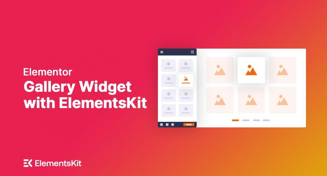 Elementor Gallery Widget - ElementsKit