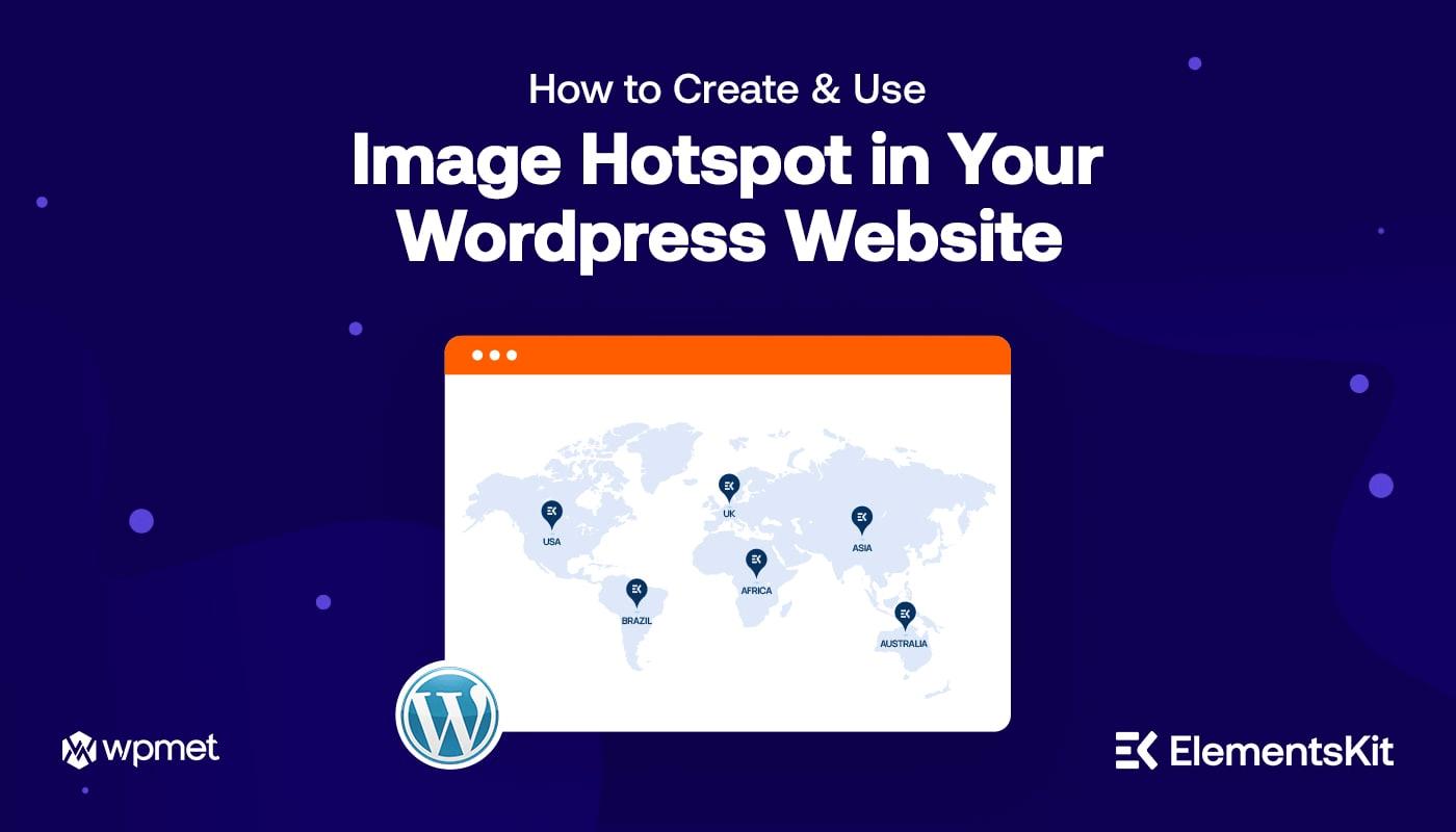 Image Hotspot in Your WordPress Website - Wpmet