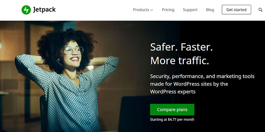 Homepage Banner of WordPress Social Media Plugin Jetpack
