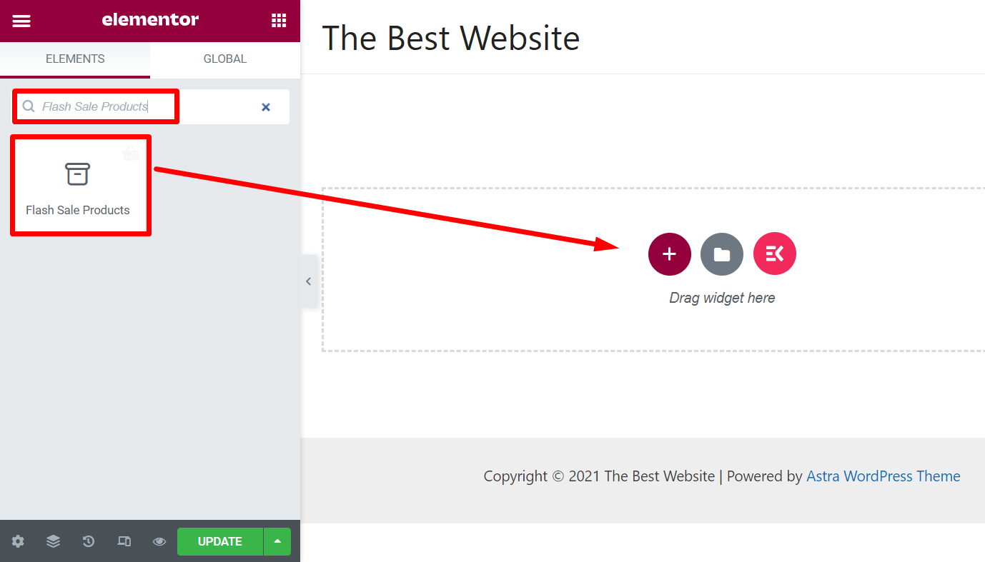 how to add flash sale products for woocommerce