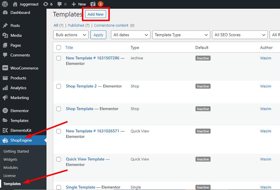 Add a new template for archive description