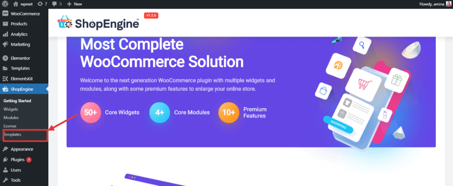 Add quick checkout template