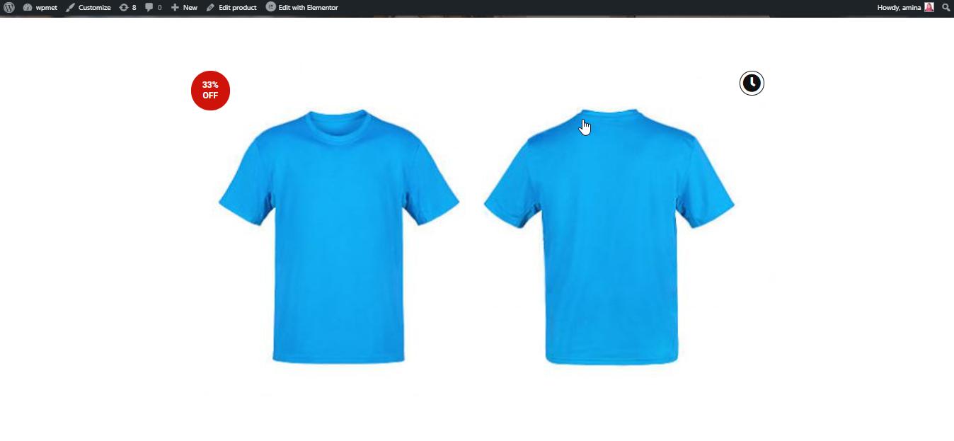 Product image widget final look