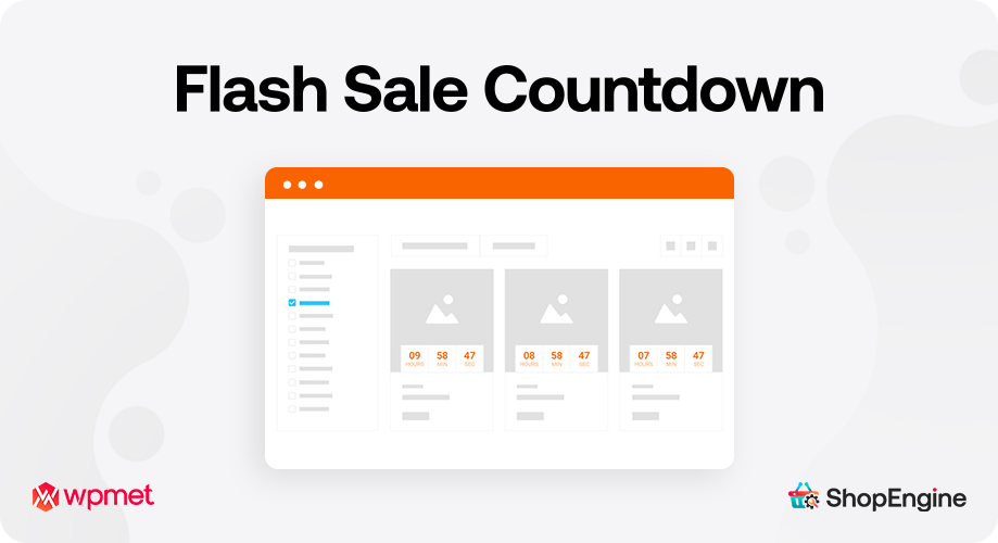 Flash Sale Countdown Showcase Your Product Sales