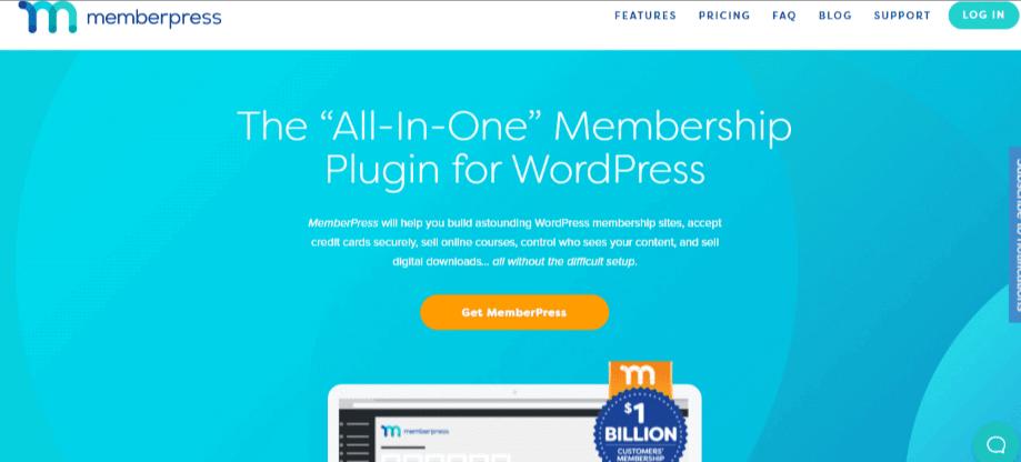 MemberPress ecommerce plugin
