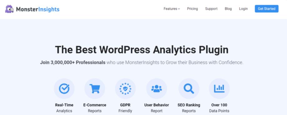 MonsterInsights WordPress ecommerce plugin