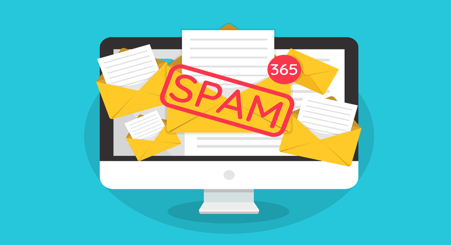 A contact form can save you from tons of spams