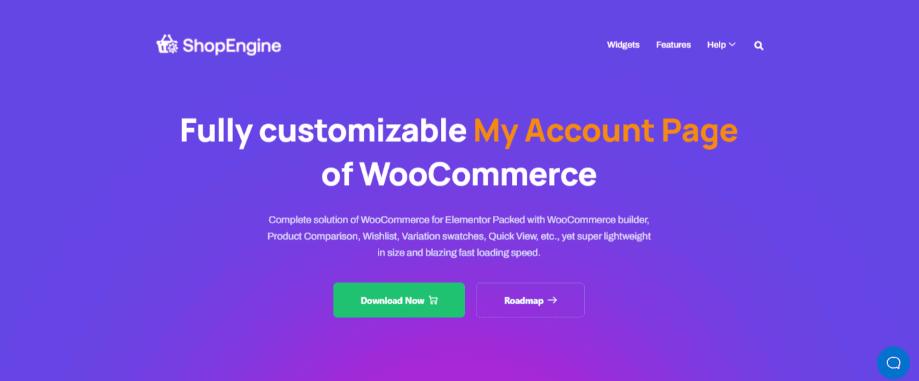 ShopEngine ecommerce WordPress plugin